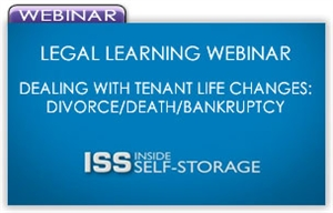 Picture of Legal Learning Webinar - Dealing With Tenant Life Changes: Divorce/Death/Bankruptcy