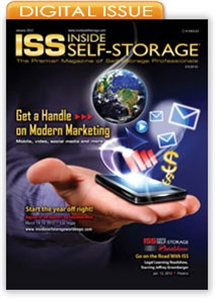Picture of Inside Self-Storage Magazine: January 2012