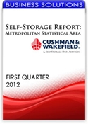 Picture of Self-Storage Metropolitan Statistical Area Report - First Quarter 2012