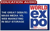 Picture of The Great Debate: Mass Media vs. Web Marketing in Self-Storage
