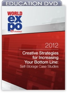 Picture of DVD - Creative Strategies for Increasing Your Bottom Line: Self-Storage Case Studies