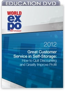 Picture of DVD - Great Customer Service in Self-Storage: How to Quit Discounting and Greatly Improve Profit