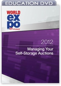 Picture of DVD - Managing Your Self-Storage Auctions