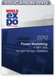 Picture of DVD - Power Marketing: A Mini Clinic for Self-Storage Operators