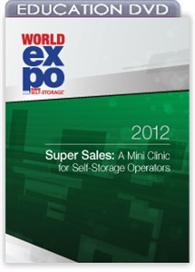 Picture of DVD - Super Sales: A Mini Clinic for Self-Storage Operators