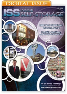Picture of Inside Self-Storage Magazine: December 2012