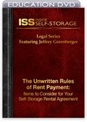Picture of DVD - The Unwritten Rules of Rent Payment: Items to Consider for Your Self-Storage Rental Agreement