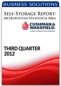 Picture of Self-Storage Metropolitan Statistical Area Report - Third Quarter 2012