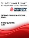 Picture of Detroit-Warren-Livonia, Mich. - Third Quarter 2012