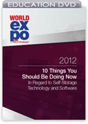 Picture of DVD - 10 Things You Should Be Doing Now in Regard to Self-Storage Technology and Software