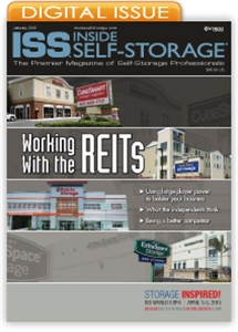 Picture of Inside Self-Storage Magazine: January 2013