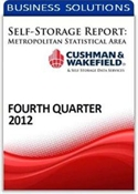 Picture of Self-Storage Metropolitan Statistical Area Report - Fourth Quarter 2012