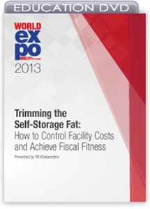 Picture of DVD - Trimming the Self-Storage Fat: How to Control Facility Costs and Achieve Fiscal Fitness
