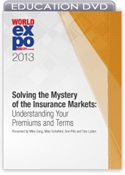 Picture of DVD - Solving the Mystery of the Insurance Markets: Understanding Your Premiums and Terms