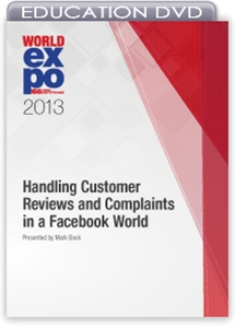 Picture of DVD - Handling Customer Reviews and Complaints in a Facebook World