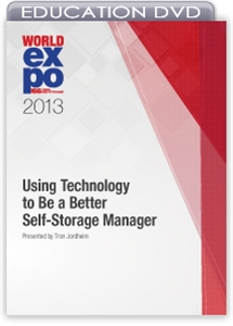 Picture of DVD - Using Technology to Be a Better Self-Storage Manager