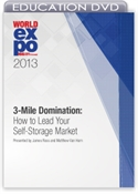 Picture of DVD - 3-Mile Domination: How to Lead Your Self-Storage Market