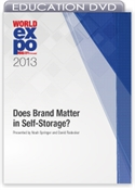 Picture of DVD - Does Brand Matter in Self-Storage?