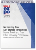 Picture of DVD - Maximizing Your Self-Storage Investment: Market Trends and Their Effect on Facility Performance