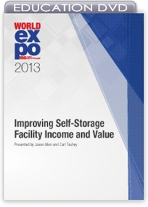 Picture of DVD - Improving Self-Storage Facility Income and Value