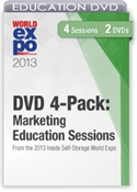 Picture of Pre-Order DVD 4-Pack: Marketing Education Sessions From the 2013 Inside Self-Storage World Expo