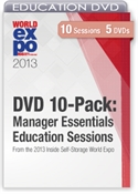 Picture of DVD 10-Pack: Manager Essentials Education Sessions From the 2013 Inside Self-Storage World Expo