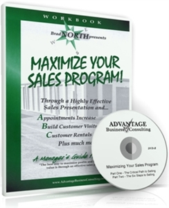 Picture of Maximizing Your Sales Program - DVD and Workbook Combo