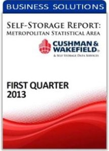 Picture of Self-Storage Metropolitan Statistical Area Report - First Quarter 2013