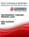 Picture of San Francisco-Oakland-Fremont, Calif. - First Quarter 2013