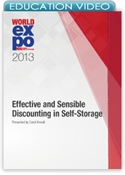 Picture of Effective and Sensible Discounting in Self-Storage