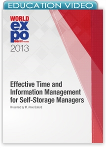 Picture of Effective Time and Information Management for Self-Storage Managers