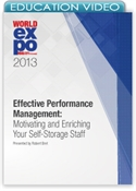 Picture of Effective Performance Management: Motivating and Enriching Your Self-Storage Staff