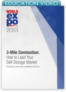 Picture of 3-Mile Domination: How to Lead Your Self-Storage Market