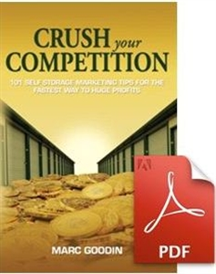 Picture of Crush Your Competition: 101 Self Storage Marketing Tips for the Fastest Way to Huge Profits [DIGITAL]