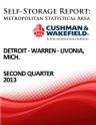 Picture of Detroit-Warren-Livonia, Mich. - Second Quarter 2013