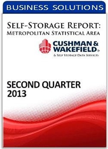 Picture of Self-Storage Metropolitan Statistical Area Report - Second Quarter 2013