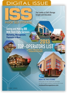 Picture of Inside Self-Storage Magazine: October 2013