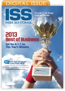 Picture of Inside Self-Storage Magazine: November 2013