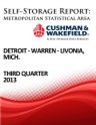 Picture of Detroit-Warren-Livonia, Mich. - Third Quarter 2013