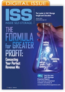 Picture of Inside Self-Storage Magazine: January 2014