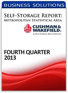 Picture of Self-Storage Metropolitan Statistical Area Report - Fourth Quarter 2013