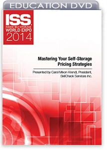 Picture of DVD - Mastering Your Self-Storage Pricing Strategies