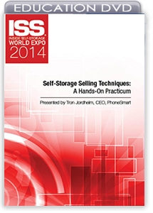 Picture of DVD - Self-Storage Selling Techniques: A Hands-On Practicum