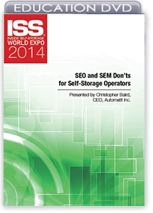Picture of DVD - SEO and SEM Don'ts for Self-Storage Operators