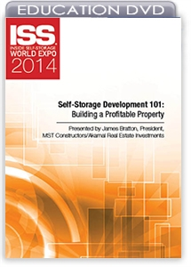 Picture of DVD - Self-Storage Development 101: Building a Profitable Property