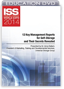 Picture of DVD - 12 Key Management Reports for Self-Storage and Their Secrets Revealed