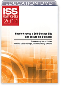 Picture of DVD - How to Choose a Self-Storage Site and Ensure It's Buildable
