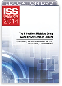Picture of DVD - The 5 Costliest Mistakes Being Made By Self-Storage Owners