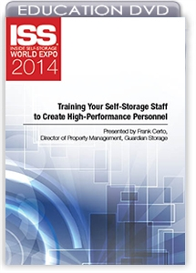 Picture of DVD - Training Your Self-Storage Staff to Create High-Performance Personnel