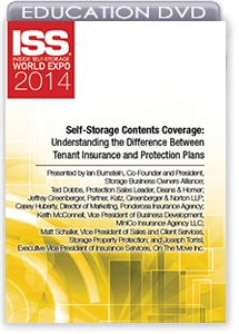 Picture of DVD - Self-Storage Contents Coverage: Understanding the Difference Between Tenant Insurance and Protection Plans